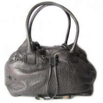 sac sonia rykiel new margot cuir metallise