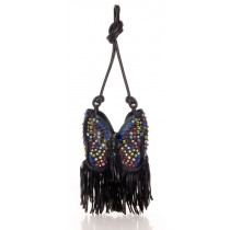 sonia rykiel sac loulou strass multicolores