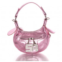 sonia rykiel sac nevada metallise rose