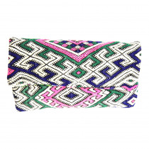 pochette opera maud fourier paris kilim cuir made in paris