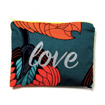 Pochette coton wax a personnaliser maud fourier paris love