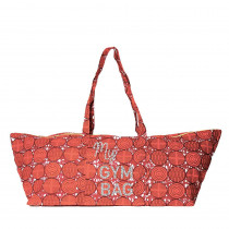 sac voyage sport ou week end en coton wax rouge par maud fourier paris