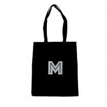 tote bag coton initiale personnalise maud fourier