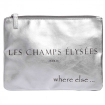pochette where else champs elysees argent