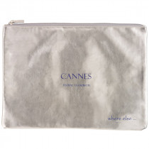 where else pochette cannes argent bleu