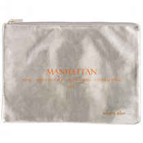 where else pochette manhattan argent orange