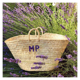 Panier Grand modèle - Initiales small