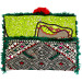 Pochette en Kilim Ancien Multicolore face wax